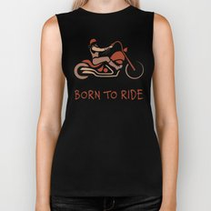 BORN TO RIDE Biker Tank