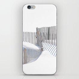 Winter Beach 2015 iPhone Skin