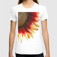 sunflower T-shirts featuring Sunflower by Wood-n-Images