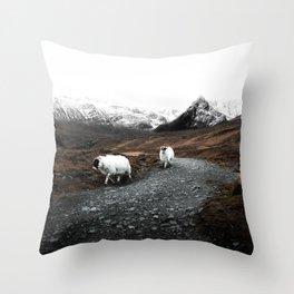 Ram Crossing / Isle of Skye Throw Pillow