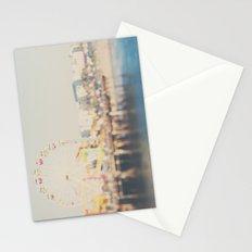 santa monica pier ...  Stationery Cards