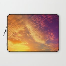 candy colorful sunset Laptop Sleeve