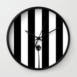 Palm Tree Flag Wall Clock