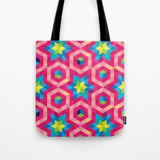 Facets Tote Bag