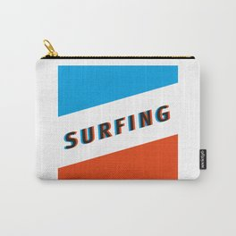 SURFING 3D - Square Carry-All Pouch