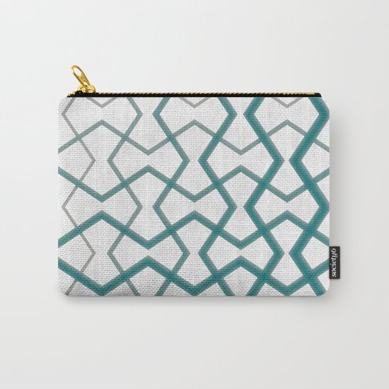 Biscay Bay Under Marble Tiles Carry-All Pouch