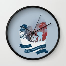The Husbands of River Song | Doctor Who Wall Clock