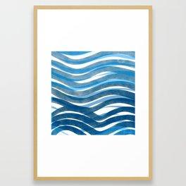 Ocean's Skin Framed Art Print
