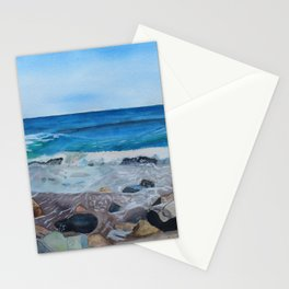 Hampton Beach Painting Stationery Cards
