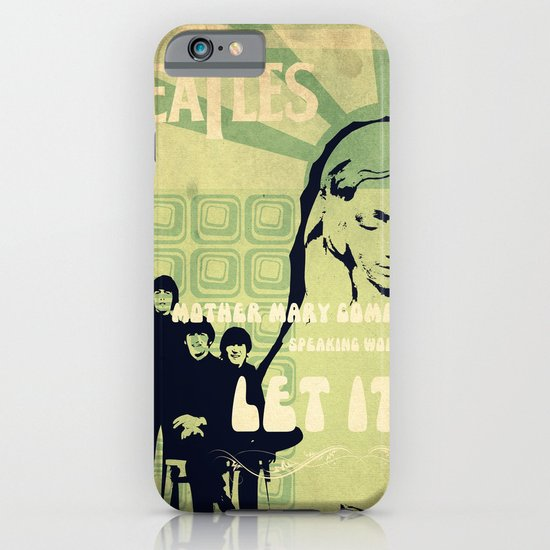Let It Be iPhone & iPod Case