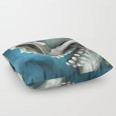Skull 3 Floor Pillow
