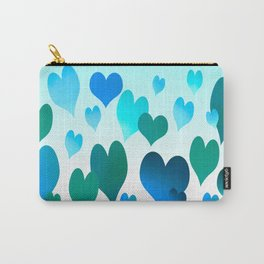 Hearts get Lighter (blue) Carry-All Pouch