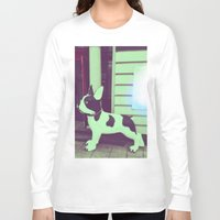 puppy Long Sleeve T-shirts featuring Puppy by Karolis Butenas