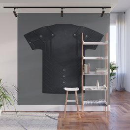 Armor Series: Stealth Leather Shirt Wall Mural