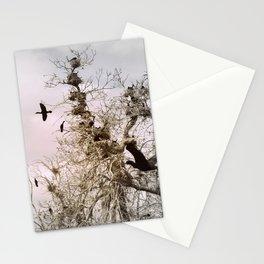 bird's nests Stationery Cards