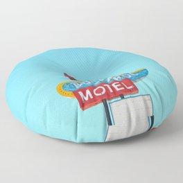 Buckaroo Motel Floor Pillow