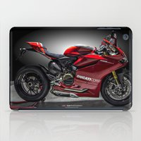 ducati iPad Cases featuring Ducati 1199 Panigale R by Elias Silva Photography