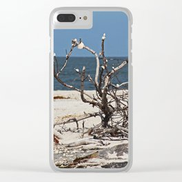Random Acts Clear iPhone Case