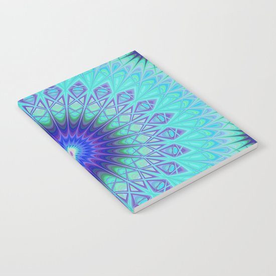 Frozen mandala Notebook