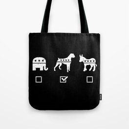 VOTE BOXER Tote Bag