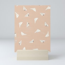 Paper Planes-Peach Mini Art Print