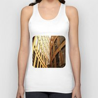 library Tank Tops featuring Library  by Ethna Gillespie
