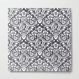 Damask Pattern 3 Metal Print