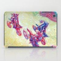 helen iPad Cases featuring Glen Helen Motocross 2008 by Scott Dickson