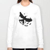 mockingjay Long Sleeve T-shirts featuring MockingJay Revolution  by Lauren Lee Design's