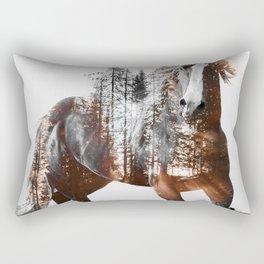 Sunset Rider Rectangular Pillow