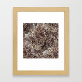 Textures of Marble Framed Art Print