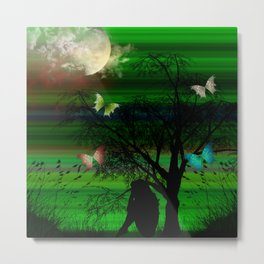 Meditation Moment Metal Print