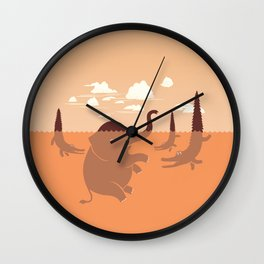 It's Not What You Look At That Matters. It's What You See- Henry David Thoreau Quote. Wall Clock