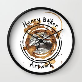112/365 - HB Artwork Wall Clock