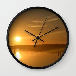 Morning Fall Wall Clock