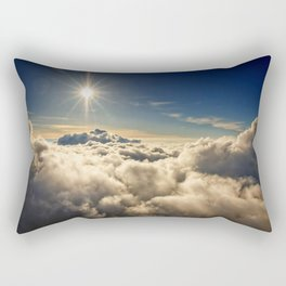 clouds (Above The Heavenly Clouds) Rectangular Pillow