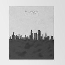 City Skylines: Chicago Throw Blanket