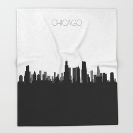 City Skylines: Chicago Throw Blanket