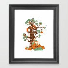 Mon arbre Framed Art Print