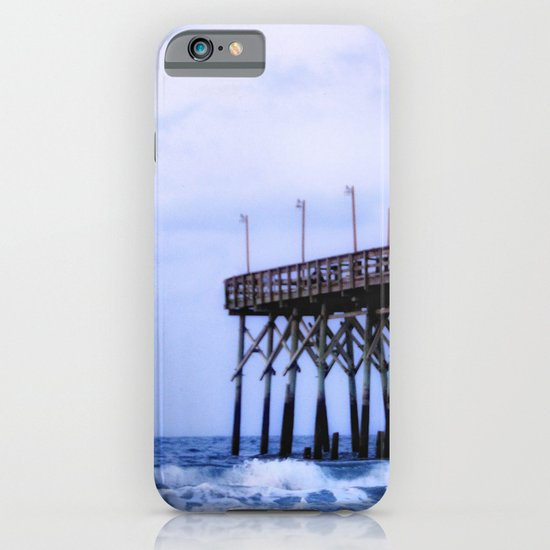 Waves against the Pier iPhone & iPod Case