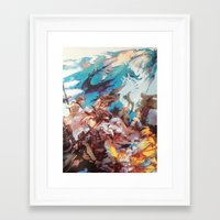 final fantasy Framed Art Prints featuring Final Fantasy by Tamika