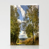kentucky Stationery Cards featuring Kentucky Road by JMcCool