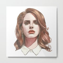 born to die Metal Print
