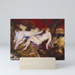 Peter Paul Rubens - Diana and her Nymphs Spied upon by Satyrs Mini Art Print