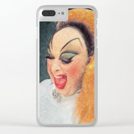 Divine Clear iPhone Case
