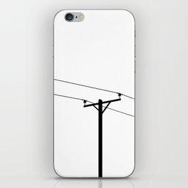 Telephone Pole iPhone Skin