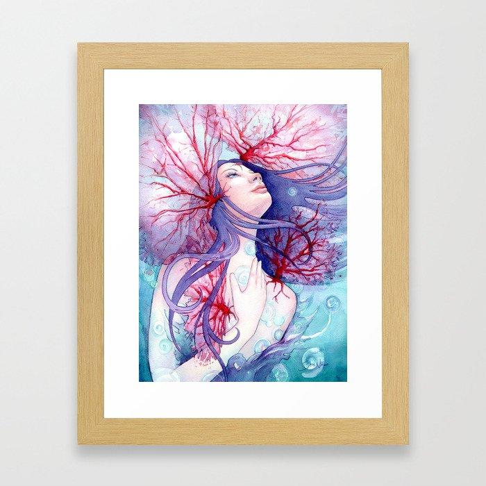 Soul of the Siren Framed Art Print