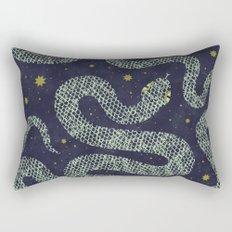 Space Serpent Rectangular Pillow