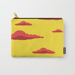 Cloudscape - Yellow Carry-All Pouch