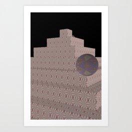 New-Nice Pyramide 1 Art Print
